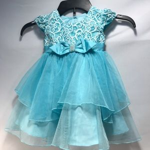 Jona Michelle Dresses - 🌷Sold🌷Blue Formal Dress baby Girl Size 24 months
